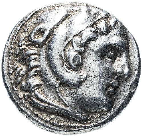 Греция, Александр III Великий, 317-305 гг до Р.Х., тетрадрахма. Амфиполис (Касса