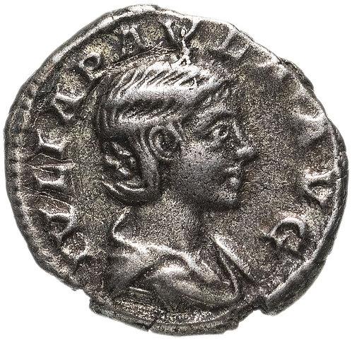 Римская империя, Юлия Павла, жена Элагабала, Денарий. Julia Paula, AR Denarius