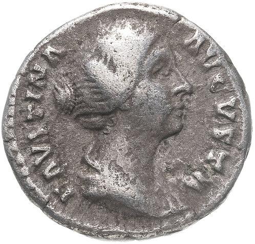 Римская империя, Фаустина Младшая, супруга Марка Аврелия, денарий. Венера, Venus