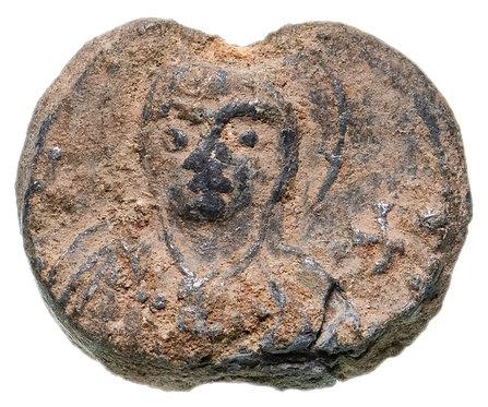 Византийская империя, VII-IX век, моливдовул.(Свинцовая печать) Byzantine Seal