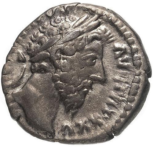 Римская империя, Марк Аврелий, 161-180 годы, денарий.