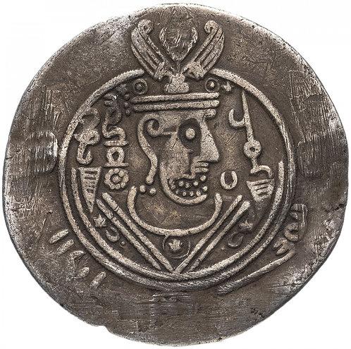 Арабо-сасаниды Табаристана, Умар ибн аль-Ала, 771-782 годы, гемидрахма.