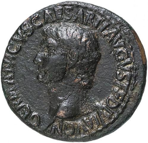 Римская империя, Германик, отец Калигулы (приемный сын Тиберия), 37-38 гг, Асс.