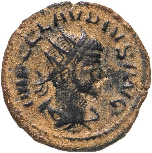 Римская империя, Клавдий Готский, 268-270 годы, Антониниан. Claudius II Gothic