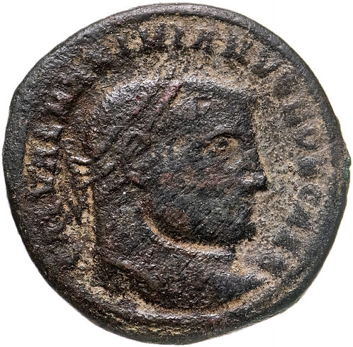 Римская империя, Галерий, 305-311 годы, Нуммий. Galerius Valerius Maximianus