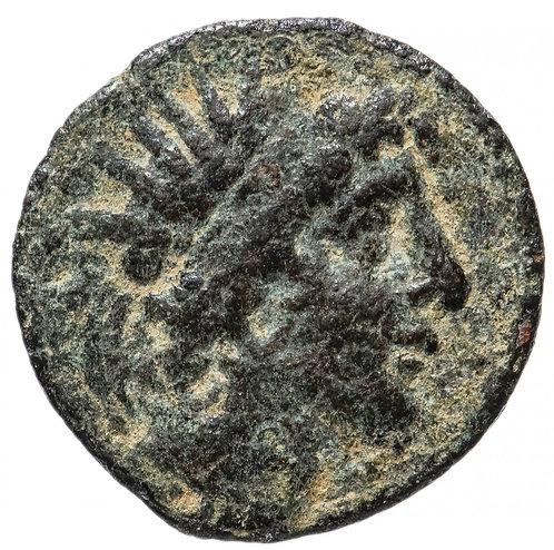 Селевкиды, Антиох VIII, 121-96 годы до Р.Х., АЕ19.