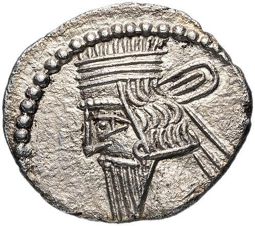 Парфянское царство, Пакор I, 78-120 годы, драхма. Pakoros I Drachm серебро.