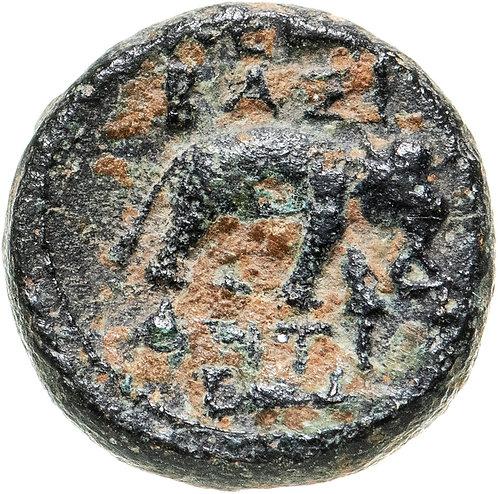 Государство Селевкидов, Антиох I Сотер, 281-261 годы до Р.Х., АЕ12. (слон)