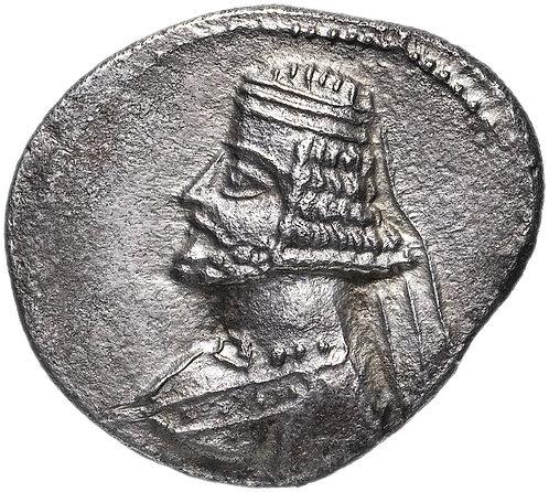 Парфянское царство, Митридат IV, 58-53 годы до Р.Х., драхма. Mithridates IV. AR