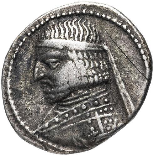 Парфянское царство, Аршак XVI, 78/7-62/1 годы до Р.Х., Драхма.