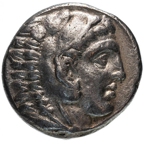 Александр III Великий, 336-323 годы до Р.Х., Тетрадрахма.(Дельфин) Dolphin
