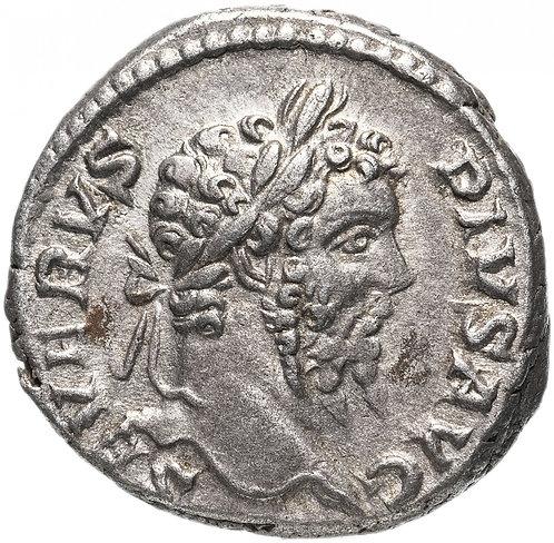 Римская империя, Септимий Север, 193-211 годы, Денарий. Septimius Severus, AR.