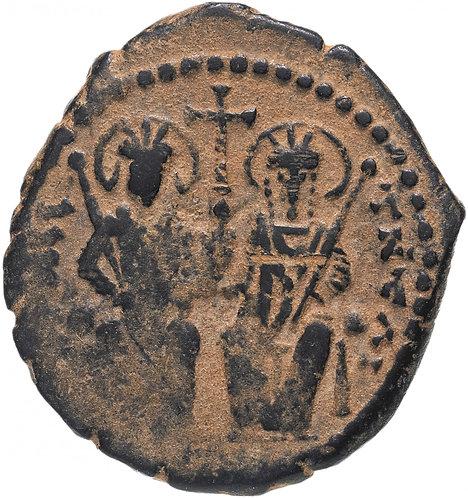 Византийская империя, Юстин II и София, 565-578 годы, 20 нуммиев. Justin Sophia