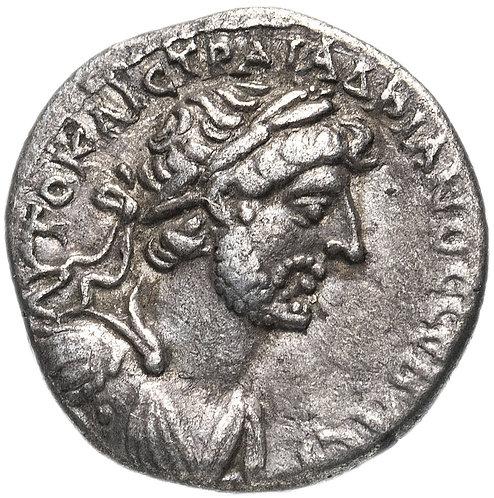 Римская империя, провинция Каппадокия, Адриан, 117-138 годы, гемидрахма.