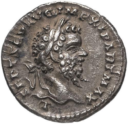 Римская империя, Септимий Север, 193-211 годы, Денарий. (Лаодикея Приморская)