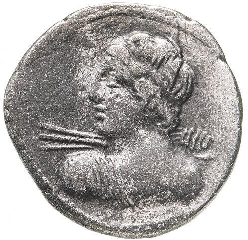 Римская Республика, Гай Лициний Мацер, 84 г. до н.э., денарий.C. Licinius L.f. M