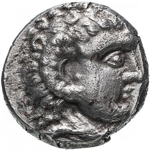 Арабия, 300-200 годы до Р.Х., подражание тетрадрахме Александра III Великого.