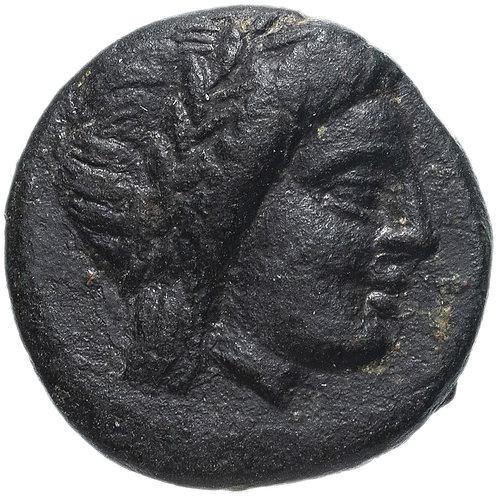 Иония, Милет, 190-120 годы до Р.Х., АЕ17.