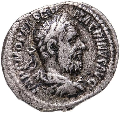 Римская империя, Макрин, 217-218 годы, Денарий. Macrinus AR Denarius