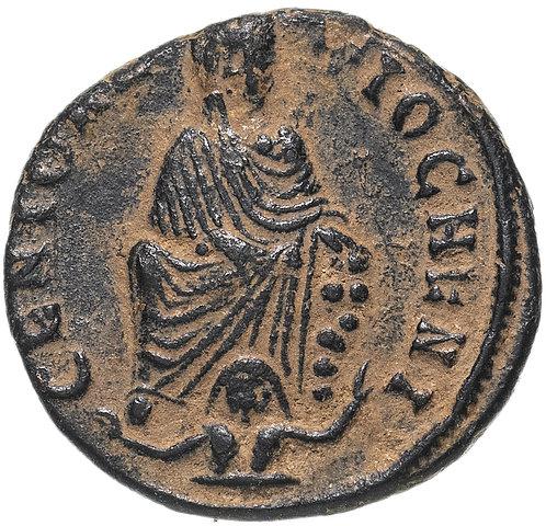 Римская империя, анонимный выпуск, 312 год, 1/4 нуммия. Максимин Даза