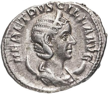 Римская империя, Геренния Этрусцилла, жена Траяна Деция, антониниан.