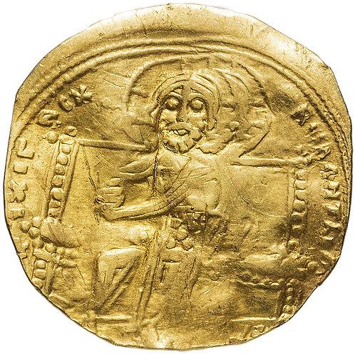 Византия. Константин 10 Дука, 1059-1067 гг., Гистаменон. (отрезанный)