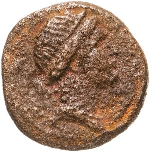 Сирия, Антиохия-на-Оронте, квази-автономная чеканка, 54-68 годы, дихалк.