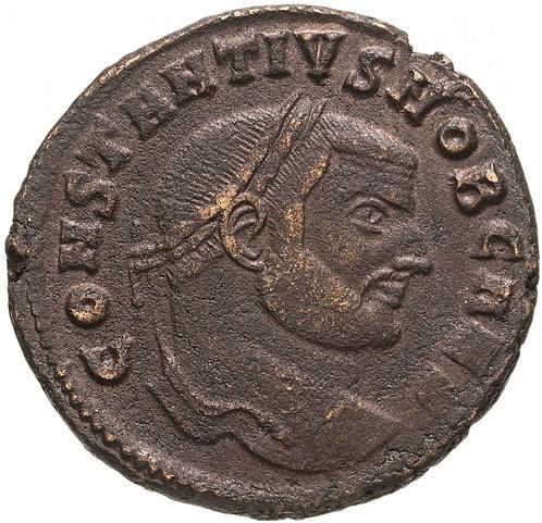 Римская империя, Констанций Хлор, 293-306 годы, Нуммий. Constantius I Chlorus