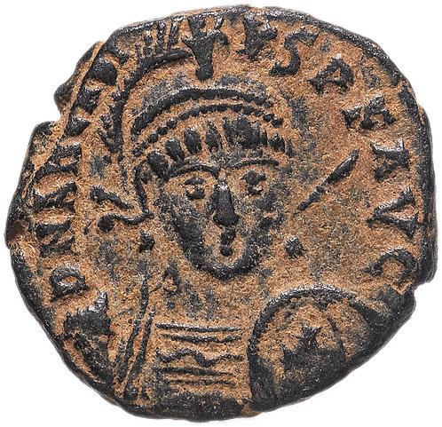 Римская империя, Аркадий, 383-408 годы, нуммий. Roman Imperial, Arcadius AE