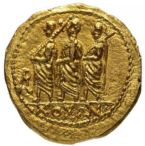 Фракия или Дакия (Скифия), Козон, около 44-42 до н. э. Статер.(Золото) Koson