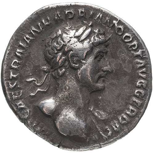 Римская империя, Адриан, 117-138 годы, Денарий. Hadrian (Parthicus)