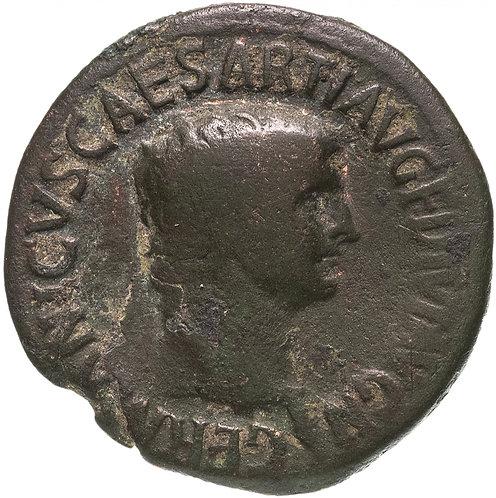 Римская империя, Германик, отец Калигулы (приемный сын Тиберия), 37-38 год, Асс.
