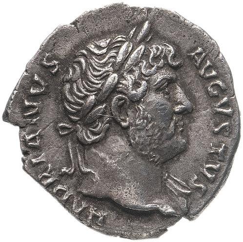 Римская империя, Адриан, 117-138 годы, денарий. Hadrian, Denarius.