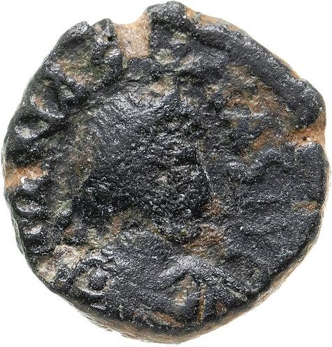 Византийская империя, Анастасий I, 491-518 годы, пентануммий. Anastasius Pentan