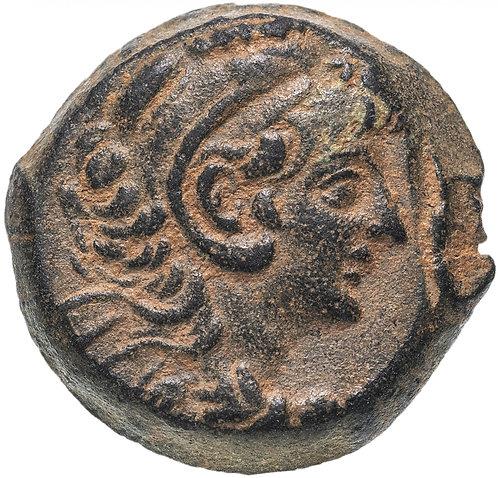 Селевкиды, Александр II Забина, 128-122 гг. до н.э., АЕ22 (Ника) Alexander II