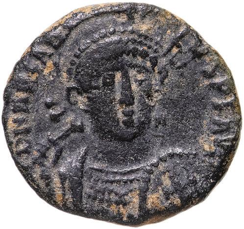 Римская империя, Аркадий, 383-408 годы, нуммий.