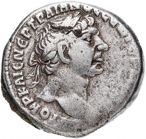Римская империя, провинция, Финикия, Тир, Траян 98-117 Годы, Тетрадрахма. Орёл