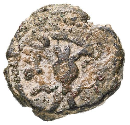 Омейядский халифат, анонимный выпуск, 685-705 годы, фельс. (гранат)