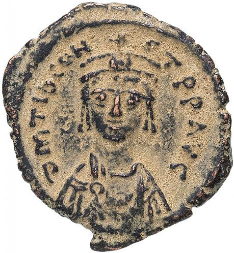 Византийская империя, Тиберий Константин, 578-582 годы, 1/4 фоллиса.