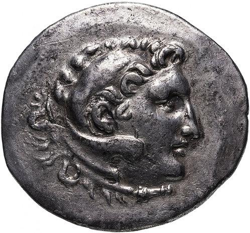 Македонское царство, Александр III Великий, 336-323 годы до Р.Х., Тетрадрахма.