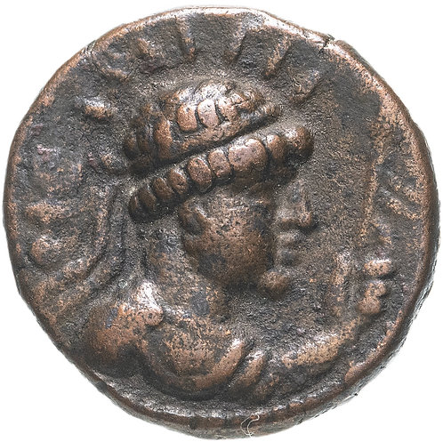 Кушанская империя, Вима Такто (Сотер Мегас), 80-100 годы, тетрадрахма. Vima Takh