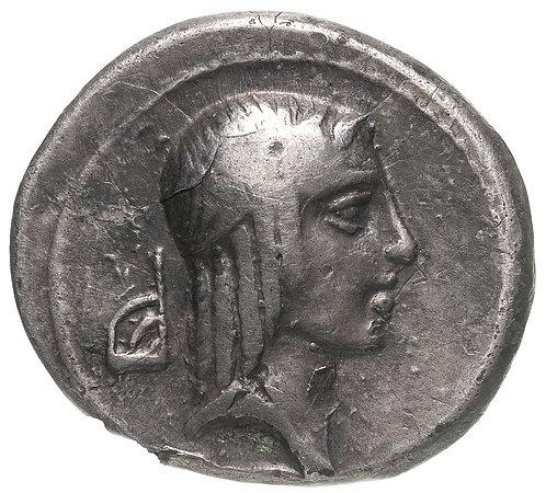 Римская республика, Г.Пизон Фруги, 67 год до Р.Х., Денарий. C. Calpurnius Piso L