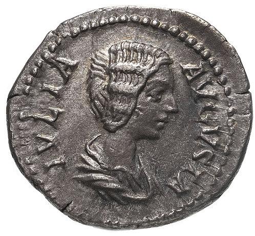 Римская империя, Юлия Домна, жена Септимия Севера, 196-211 годы, Денарий. (Пиета