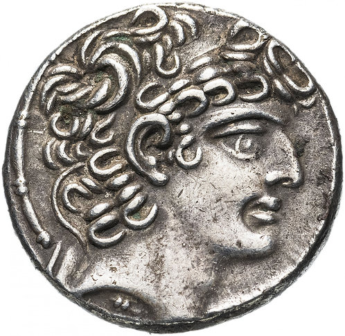 Селевкиды, Филипп Филадельф, 95-75 до Р.Х., Тетрадрахма.(Авл Габиний 57-55 до Р)