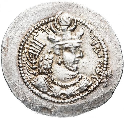 Сасаниды, Йездигерд II, 439-457 годы, Драхма. Yazdgard II серебро