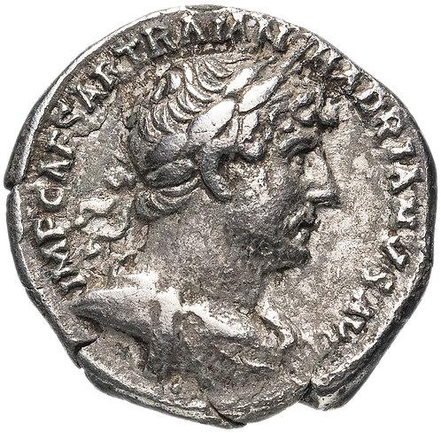 Римская империя, Адриан, 117-138 годы, Денарий. (галера)