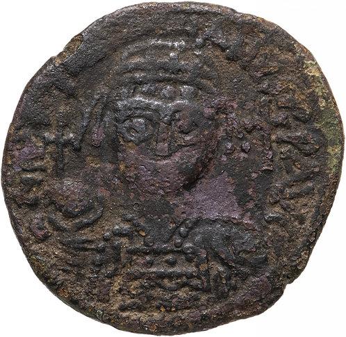 Византийская империя, Юстиниан I, 527-565 годы, 40 нуммиев (фоллис). Justinianus
