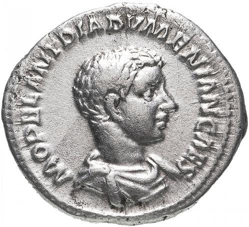 Римская империя, Диадумениан, 217-218 годы., Денарий. Diadumenian Denarius