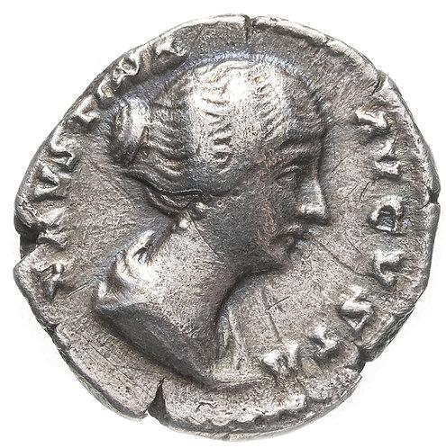 Римская империя, Фаустина Младшая, супруга Марка Аврелия, денарий. Венера Venus