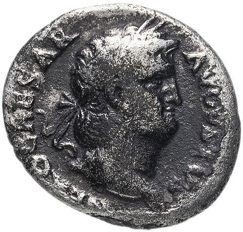 Римская империя, Нерон, 54-68 годы, денарий.